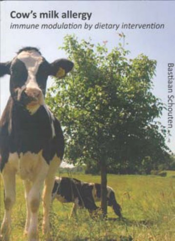 Cow's milk allergy - TI Pharma