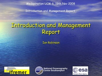 Introduction and Management Report.pdf - GlobColour Project