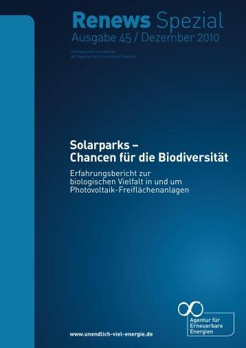 Solarparks - Agentur für Erneuerbare Energien