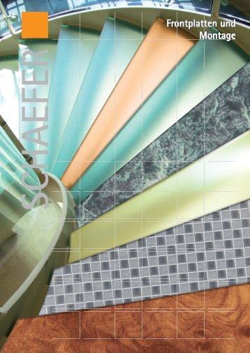 Frontplatten und Montage - WS-Schaefer