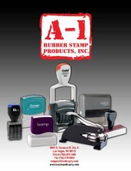 Click here to download A-1 Rubber Stamp - Boulevard Trophy