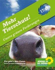 Mehr Tierschutz - Grüne Heddesheim