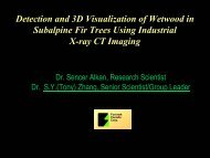 Detection and 3D Visualization of Wetwood in Subalpine Fir Trees ...