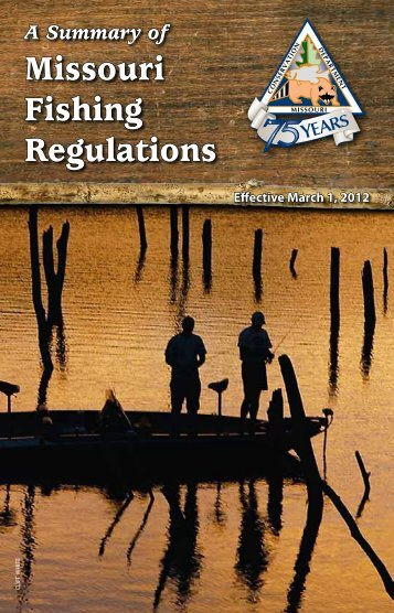 Missouri Fishing Regulations - Missouri Department of Conservation