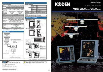 MDC-2200 - Jason Marine Ltd.