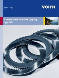 Variable-Speed Multi-Disk Coupling Type MDC - Voith Turbo