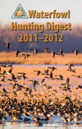 Waterfowl Hunting Digest 2011-2012 - Missouri Department of ...