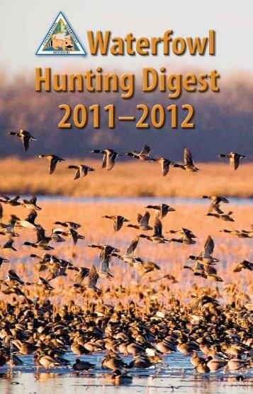 Waterfowl Hunting Digest 2011-2012 - Missouri Department of ...