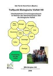 Treffpunkt Biologische Vielfalt VIII - Bundesamt für Naturschutz