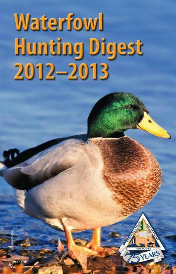 2012 Waterfowl Hunting Digest - Missouri Department of Conservation