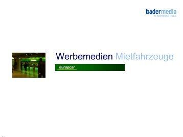 08762- 42 646 14 Fax: 08762- 42 646 29 Mail - Bader Media GmbH