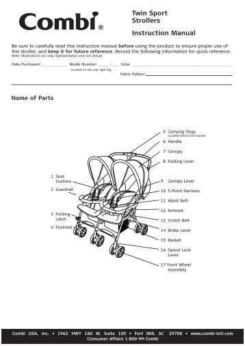 Combi Stroller Instructions Strollers 2017
