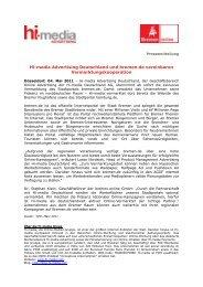 Hi-media Advertising Deutschland und bremen - Bremen Online ...
