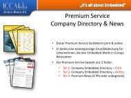 Premium Service Company Directory & News - ICC Media GmbH