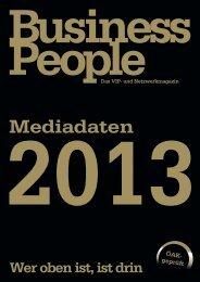 Business People über BusinessPeople - Styria Multi Media
