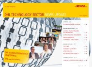 DHL Technology Sector News Update – Issue 05/ July 2012