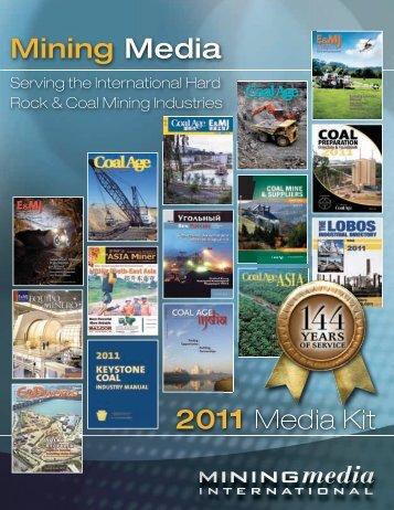 2011 Media Kit Mining Media