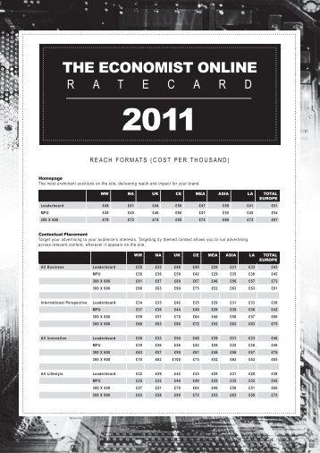 download the economist online ratecard here - The Economist ...