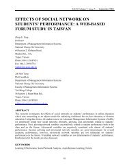 effects of social network on students' performance: a web-based ...