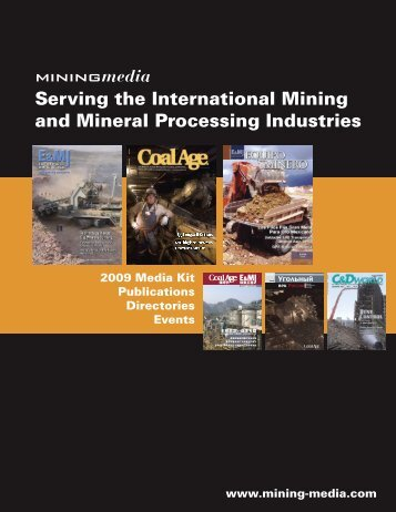 Serving the International Mining and Mineral ... - Mining Media