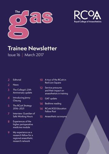 Trainee Newsletter