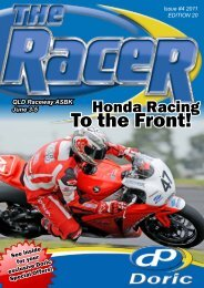 Honda Racing - Media & Communication Services