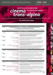 Cinefest 2010 Programm - Bundesarchiv