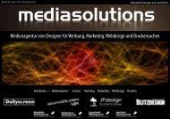 Medienagentur vom Designer für Werbung, Marketing ... - Blitzdesign