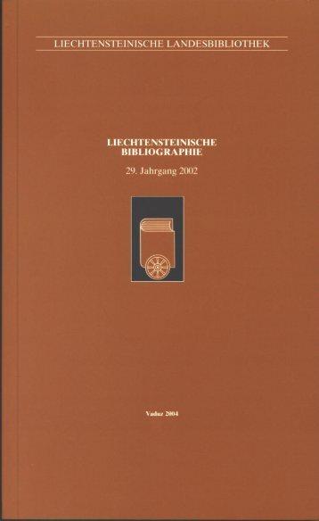 2002 - Liechtensteinische Landesbibliothek