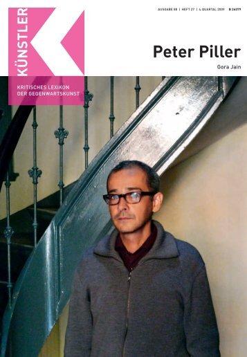 Peter Piller - Weltkunst