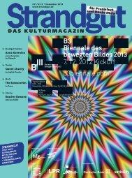 B3 Biennale des bewegten Bildes 2013 7. 12. 2012 KickOff - Strandgut