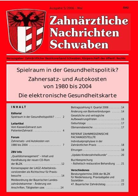 Sybille Grätz - Zahnärztlicher Bezirksverband Schwaben