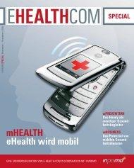 mHEALTH eHealth wird mobil - E-Health-Com