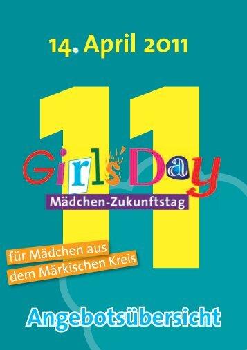 Girls' Day am 14. April 2011 (pdf-Dokument - Iserlohn