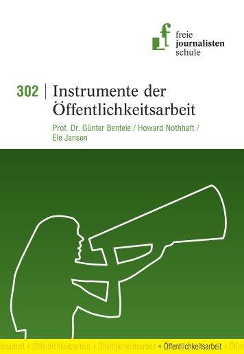 Instrumente der Öffentlichkeitsarbeit - Freie Journalistenschule