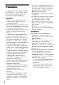 Sony BDP-S6500 - BDP-S6500 Mode d'emploi Allemand - Page 4
