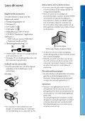 Sony DCR-PJ5E - DCR-PJ5E Consignes d'utilisation Néerlandais - Page 3