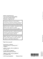 Sony DCR-PJ5E - DCR-PJ5E Consignes d'utilisation Slovaque