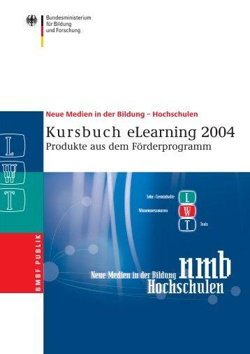 Kursbuch eLearning 2004 - Leuphana