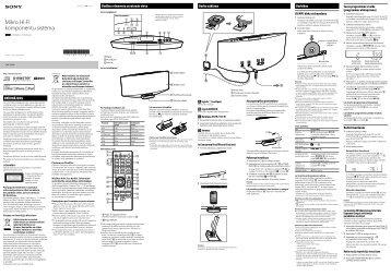 Sony CMT-V50iP - CMT-V50IP Istruzioni per l'uso Lettone
