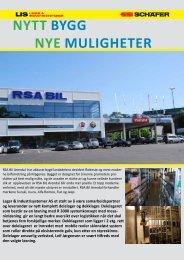 RSA Bil Arendal - Lager & Industrisystemer AS