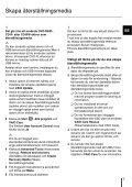 Sony SVE14A1M6E - SVE14A1M6E Guide de dépannage Suédois - Page 7