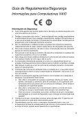 Sony SVE14A1M6E - SVE14A1M6E Documents de garantie Portugais - Page 5