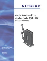 Mobile Broadband 11n Wireless Router MBR1310 User Manual - Tre