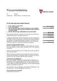 Vil du tabe dig med mobile fitness? - Hørsholm Kommune