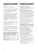 Sony DPF-D85 - DPF-D85 Istruzioni per l'uso Serbo - Page 4