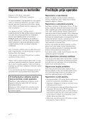 Sony DPF-D85 - DPF-D85 Istruzioni per l'uso Croato - Page 4