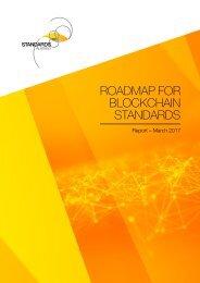 ROADMAP FOR BLOCKCHAIN STANDARDS