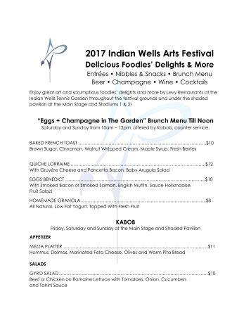 2017 Indian Wells Arts Festival