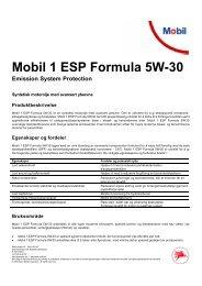 Mobil 1 ESP Formula 5W-30 - Oljeskiftexpressen